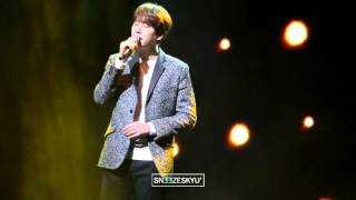 160312 Kyuhyun Hope is a dream that doesn't sleep (2016 Mercedes Fan's night)