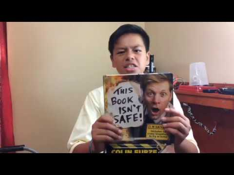 Colin Furze book review by Manny Mechanix - 14 years old.