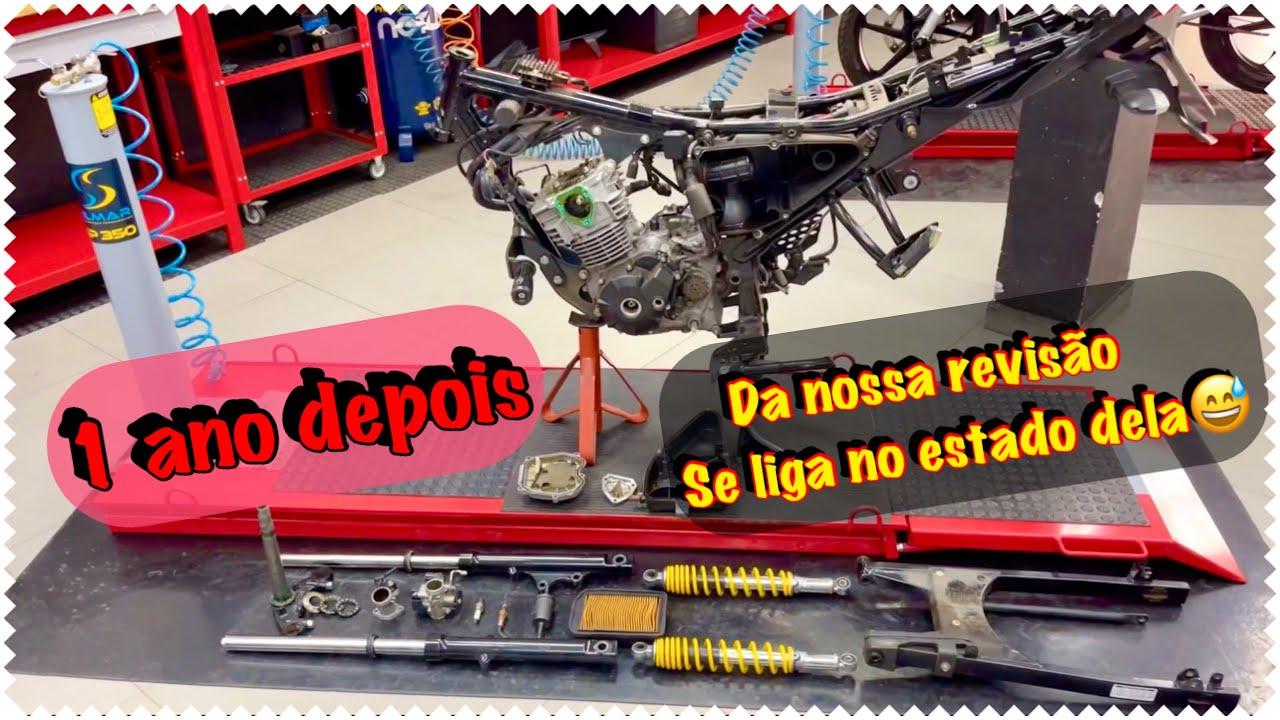 FAZER 150cc COM PARAFUSO QUEBRADO NO PINHÃO