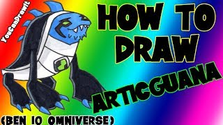 How To Draw Articguana from Ben 10 Omniverse ✎ YouCanDrawIt ツ 1080p HD