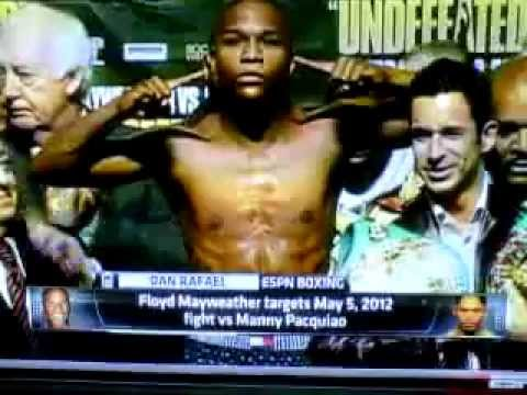 Floyd Mayweather Jr. Vs Manny Pacquiao May 5, 2012