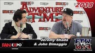 Adventure Time's Jeremy Shada & John DiMaggio Fan Expo Canada 2018 Full Panel