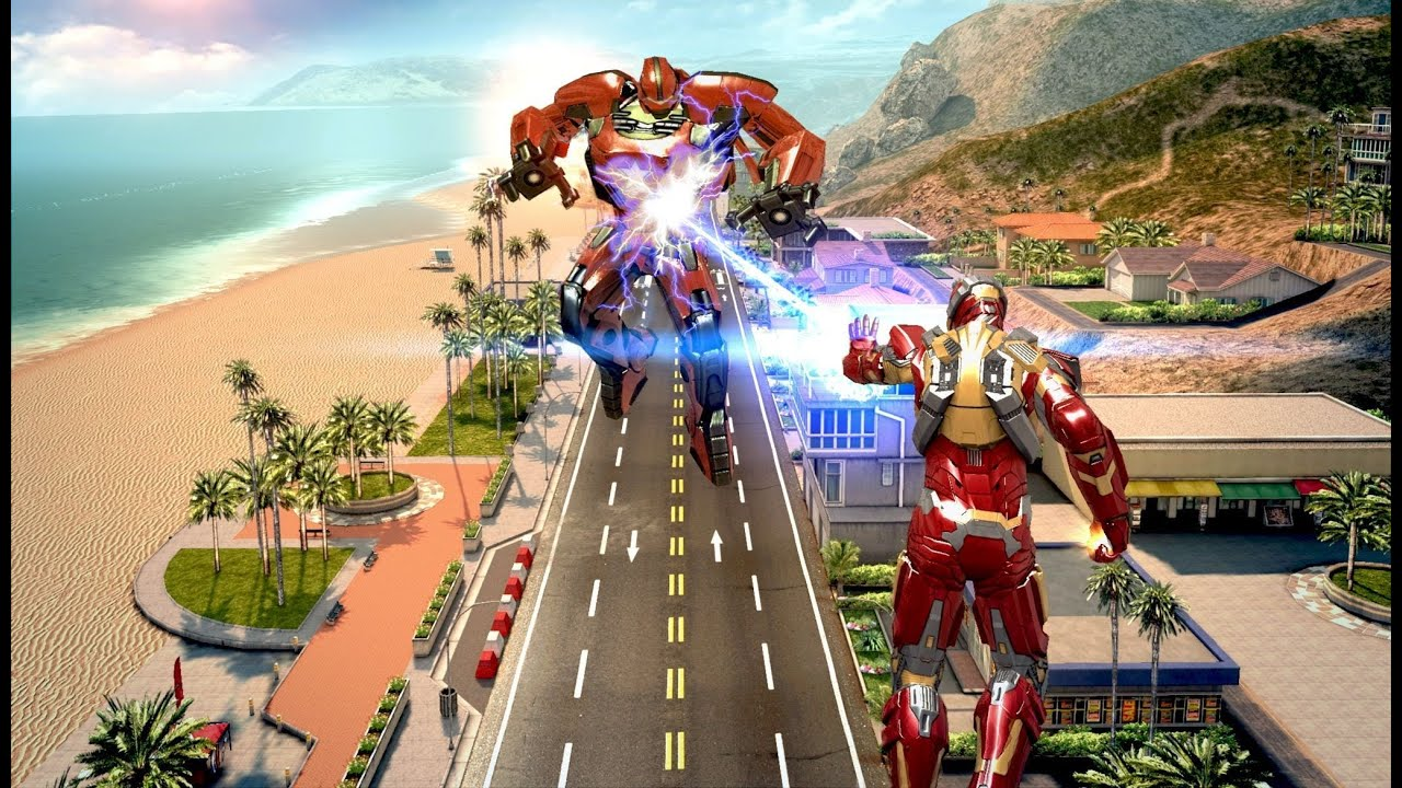 best free games for iphone iron man 3 official game play youtube - Jeux D Iron Man