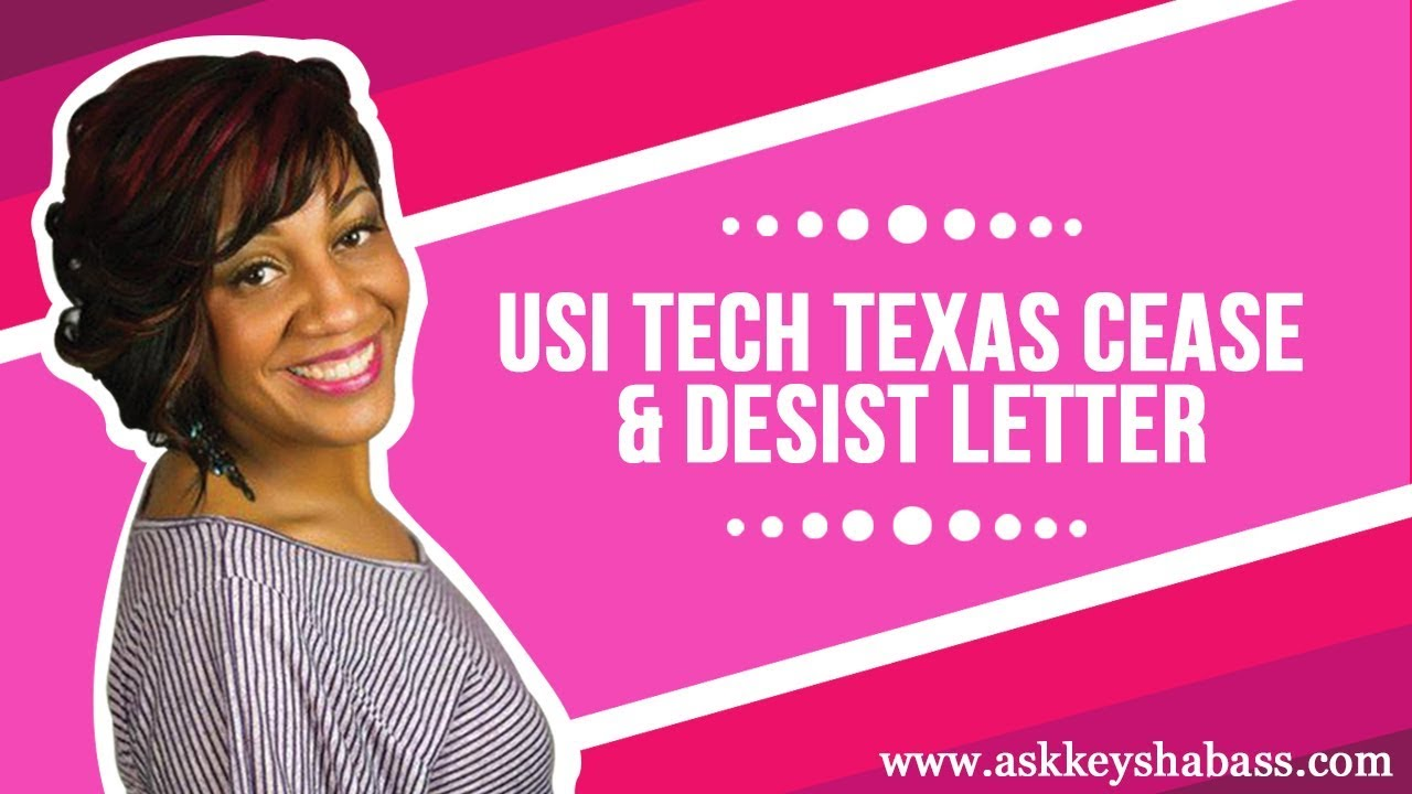 Usi Tech Texas Cease  Desist Letter  Youtube
