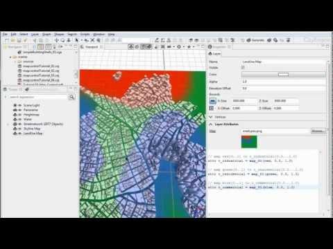 #3 CityEngine Tutorial: Map Control