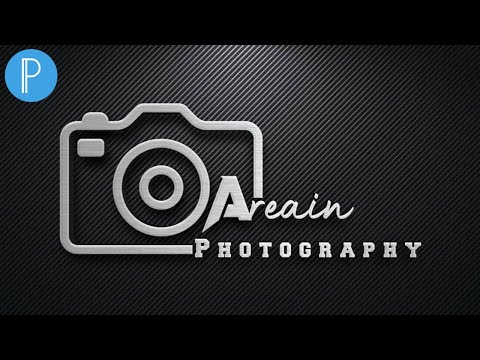 Quickly Your own Photography Logo Design in PixelLab Tutorial - Tech Ghor