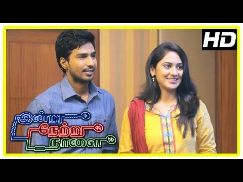 Indru Netru Naalai Movie Scenes | Karthik argues with police | Jayaprakash reject Vishnu | Mia