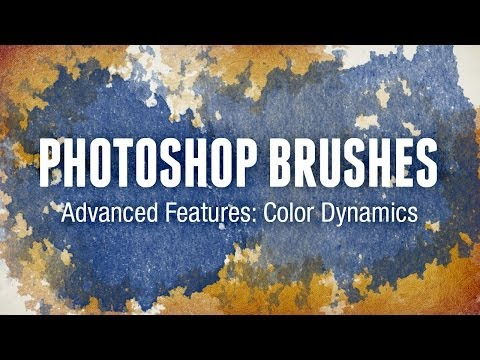 Photoshop Brushes Advanced Features: Color Dynamics