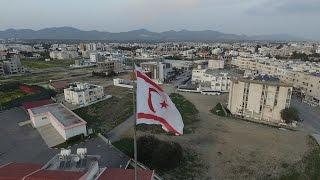 Bayrak Şiiri Kuzey Kıbrıs Türk Cumhuriyeti Havadan Çekim