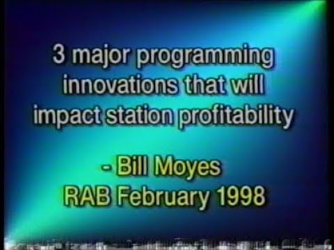 Radio Programming Seminar - 1998 - Biil Moyes R.A.B. - 3 Major Programming Innovations