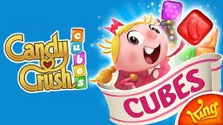Candy Crush Cubes (Stage 1 - 5) Gameplay | Android Puzzle Game