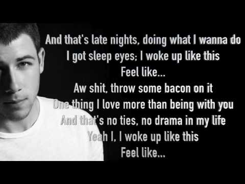 Nick Jonas - Bacon (Ft. Ty Dolla $ign) - Official Lyric Video