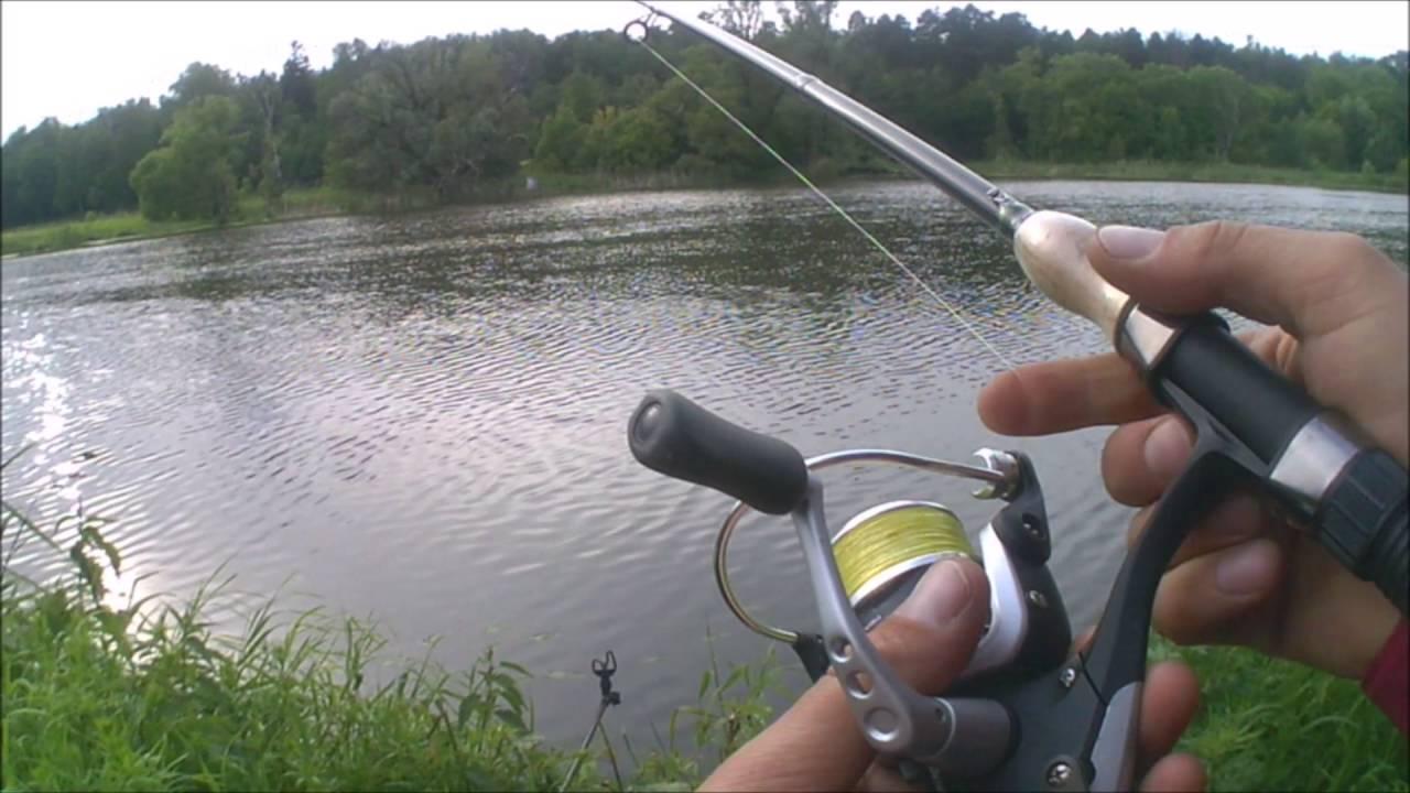 Рыбалка на пикер в черте города