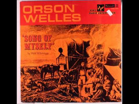 """Orson Welles Reads From America's Greatest Poem, Walt Whitman's """"Song of Myself"""" (1953)"""