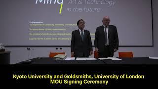 Kyoto University and Goldsmiths, University of London Future MindーInternational Symposium thumbnail