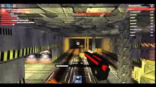 Roblox #1- Shooting the Zombies à la zone 51!