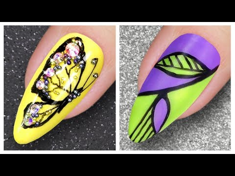 New Nail Art Designs | Spring Nail Art Compilation