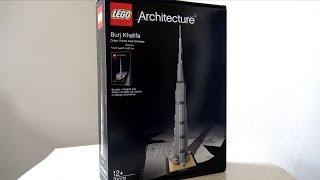 LEGO MAN - Architecture BURJ KHALiFA - Dubai, UAE ليجو مان