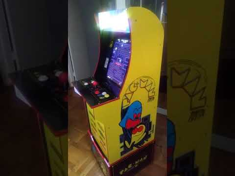 Arcade1Up ALL NEW PAC-MAN PLUS Cabinet First Look from TboneNY10