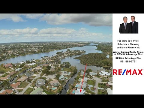 6851 Kingston Drive, Lake Worth, FL Presented by Wiener Lucena Realty Group at RE/MAX Advantage