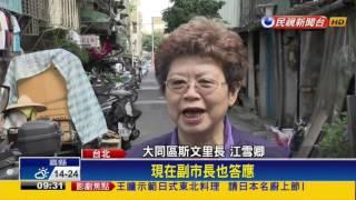 不再彎腰過生活 台北斯文里啟動都更-民視新聞