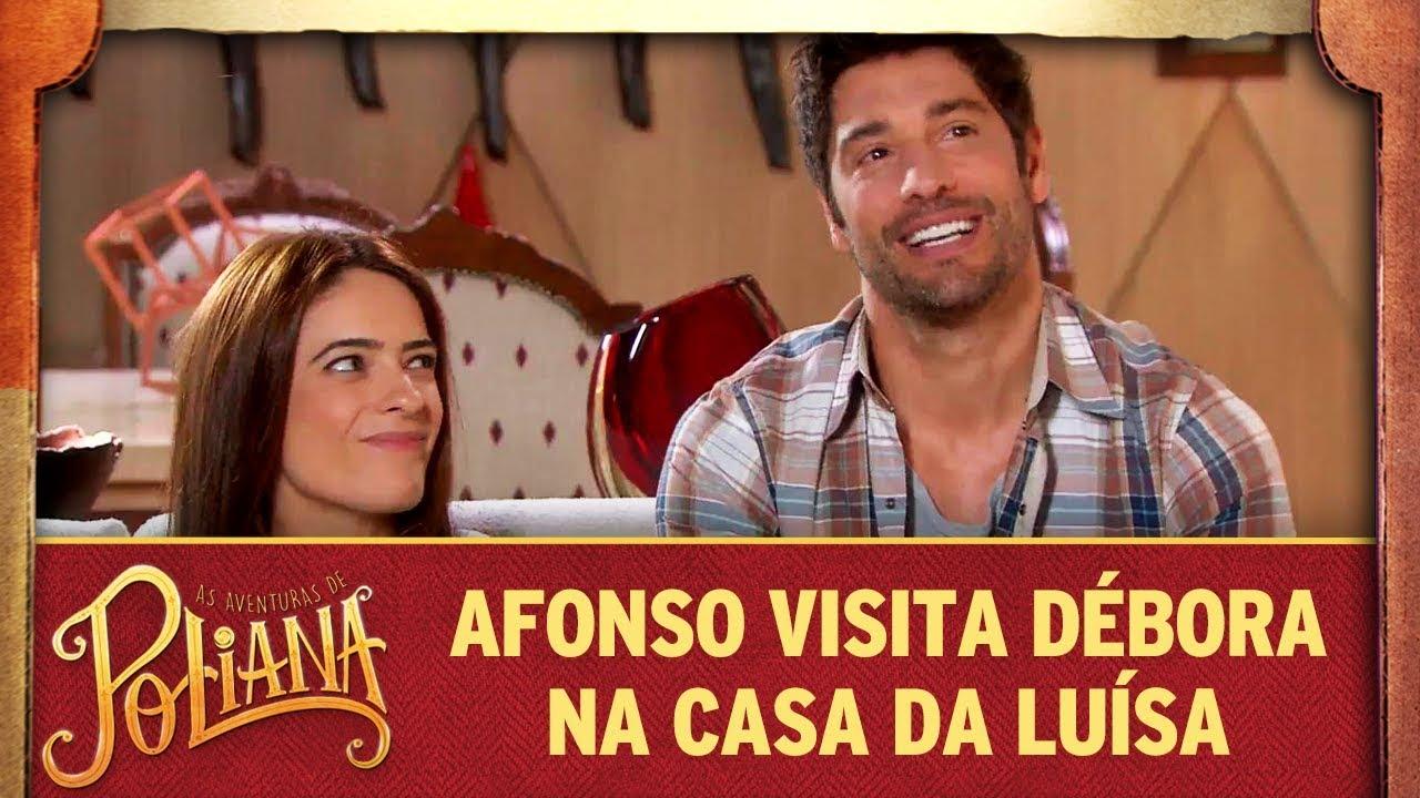 Afonso visita Débora na casa da Luísa | As Aventuras de Poliana
