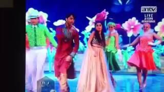 Shaheer dance dengan tina icha uttaran di hut antv