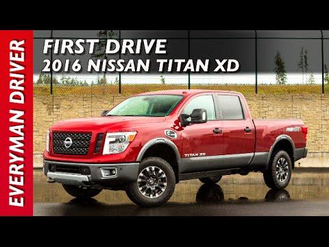 2016 Nissan TITAN XD on Everyman Driver