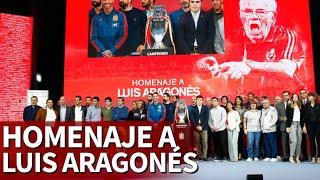 Los detalles del bonito homenaje a Luis Aragonés por la Euro 2008 | Diario AS