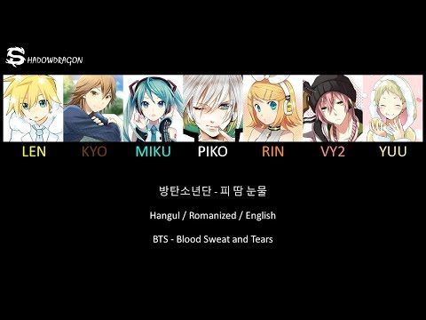 BTS - Blood Sweat And Tears [Vocaloid Cover] + Lyrics