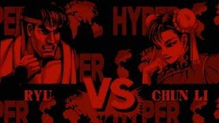 Hyper Fighting Demo (Virtual Boy) 2D Playthrough - NintendoComplete