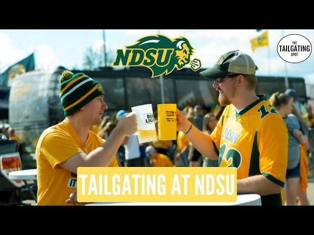 NDSU Bison Tailgating | NDSU vs. UC-Davis 2019