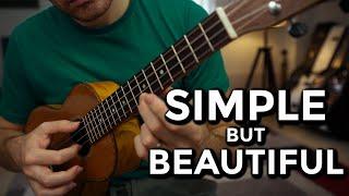 Simple Ukulele Fingerpicking Pattern with Amazing Sounding Chords