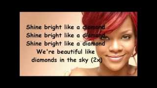 Repeat youtube video Rihanna Diamonds lyrics