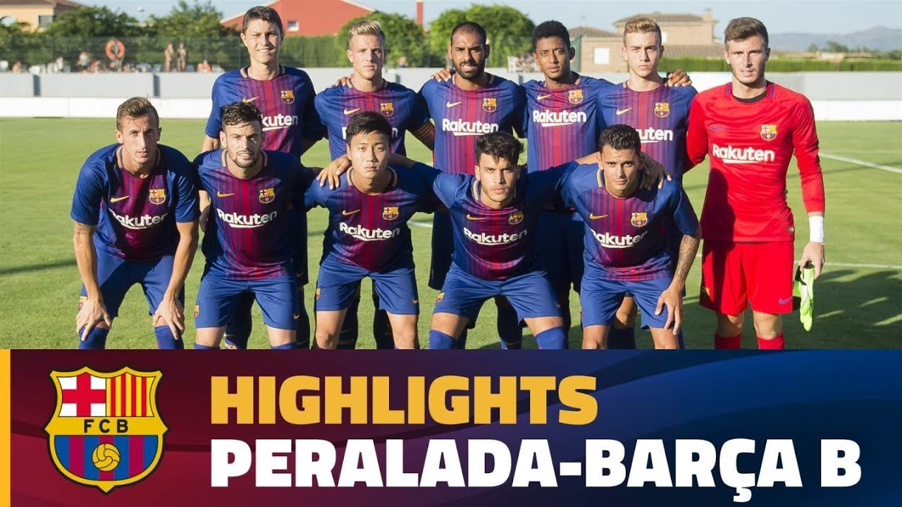cheaper 3777f cc7cd [HIGHLIGHTS] FUTBOL (Pretemporada): Peralada - FC Barcelona B (2-1)