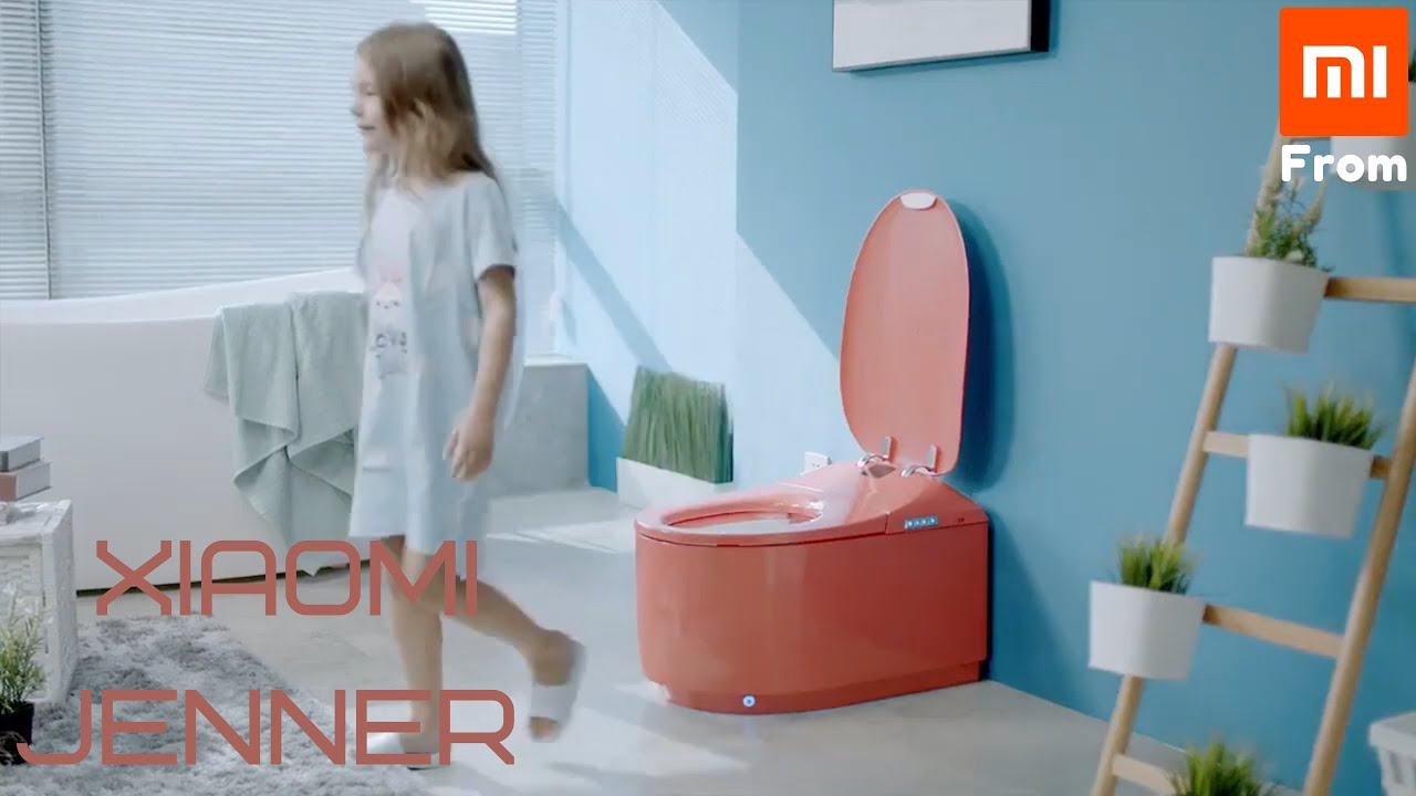 Xiaomi Jenner Automatic Smart Toilet.