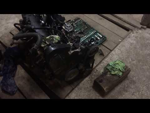 Фото к видео: Замена двигателя DW8b на XUD9TE. Подводные камни