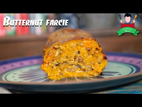 recette-de-noël-végétarienne-:-butternut-farcie
