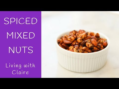 Spiced Mixed Nuts- Perfect for any Party