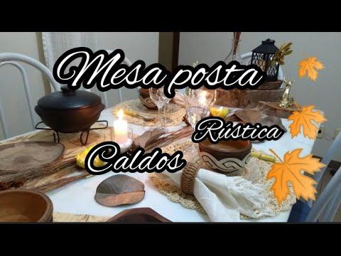 MESA POSTA CALDOS Casa&estilo