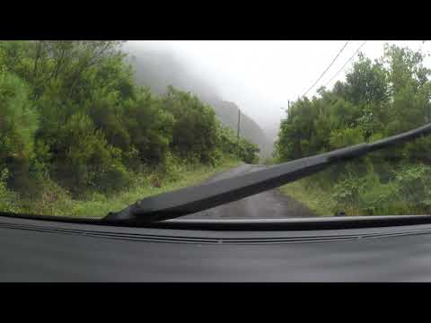Driving Madeira Seixal mountains