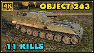World of Tanks | Object 263 - 11 Kills - 10,3K Damage Gameplay