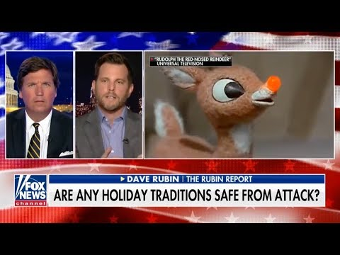 """Dave Rubin Defends Rudolph Amid Fake """"Controversy"""" and Liberal """"Outrage"""""""