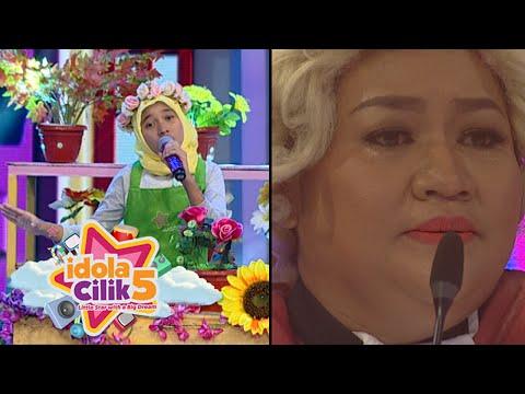 Mamah Tika Nangis Dengar Ovira Nyanyi 'Hijrah Cinta' [Idola Cilik 5] [30 Jan 2016]