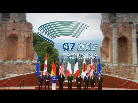 Trump faces G7 squeeze on climate change
