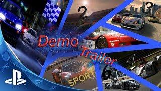 Gran Turismo 1,2,3,4,5,6,Sport (DEMO TRAILER)
