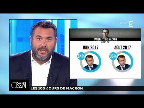 Les 100 jours de Macron #cdanslair 14.08.2017