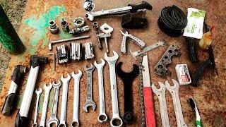 Минимальный набор велоинструментов для ремонта и обслуживания велосипеда (Фоточки-видосики)