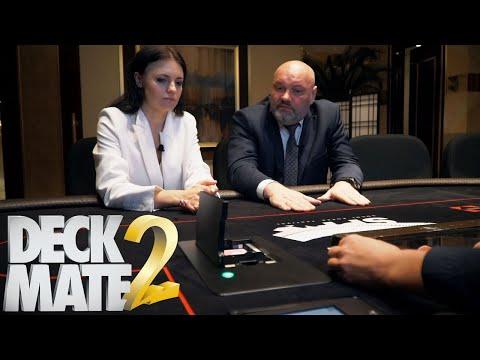 Шафл машина DeckMate2: защита от обмана в покере