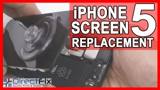 How to Replace the iPhone 5 Screen in 4 Minutes | DirectFix